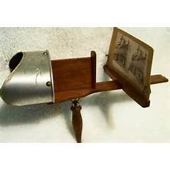 Before HD TV, there were stereoscopes